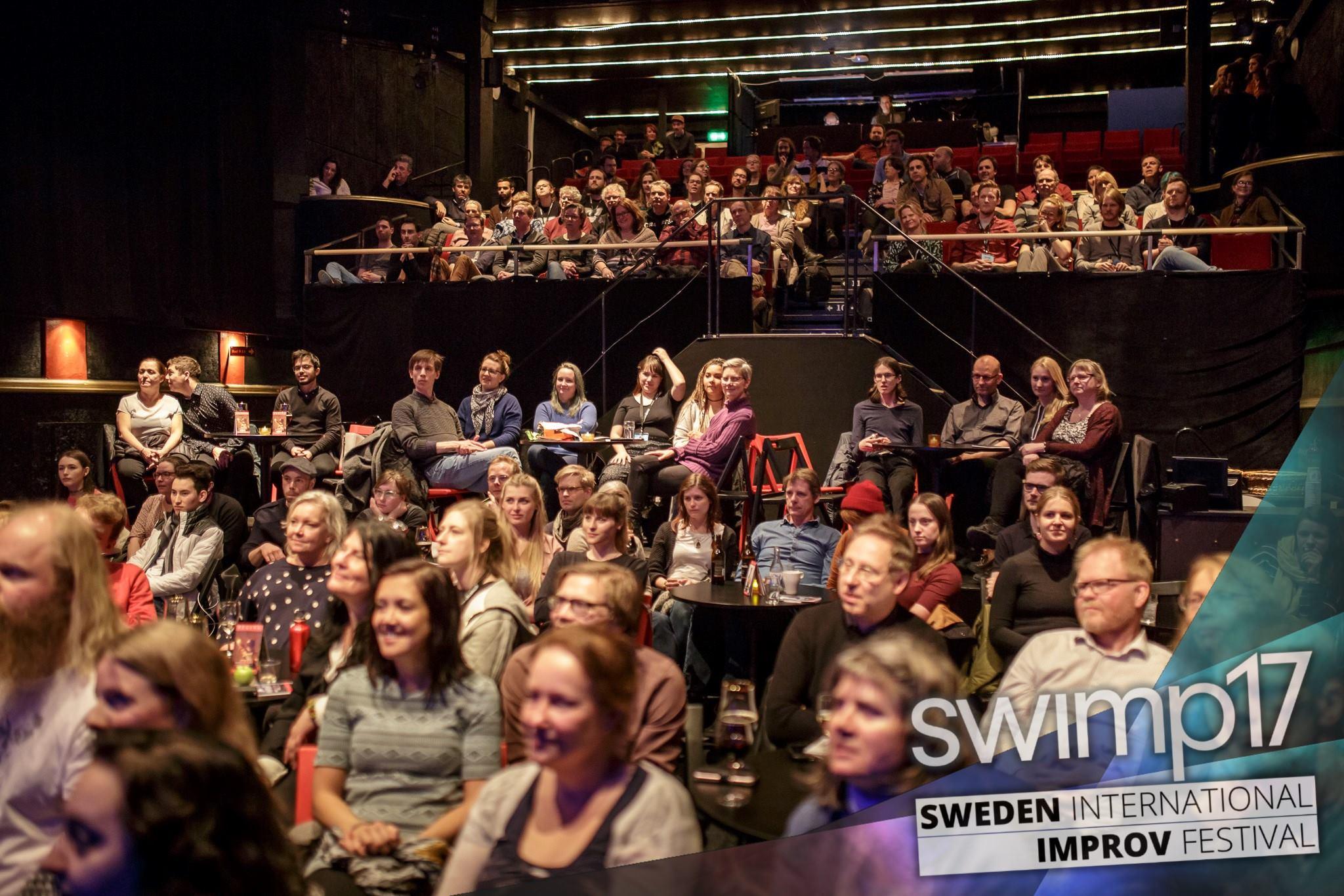 Audience im Reginateatern