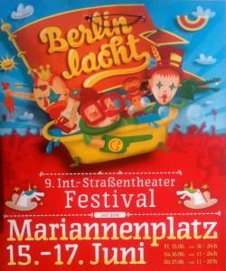 Berlin lacht 2012 Mariannenplatz - Poster