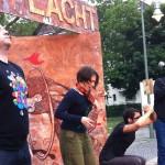 Berlin lacht - Konzentration der Improspieler