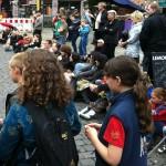 Berlin lacht - Das Publikum verfolgt gespannt Improvisationstheater