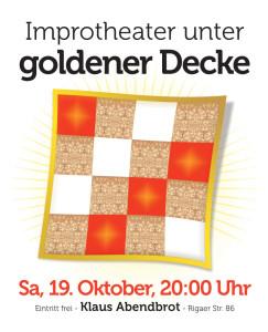 Klaus Abendbrot - Impro unter goldener Decke