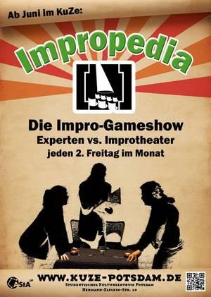 Impropedia im KuZe Potsdam - die improvisierte Gameshow