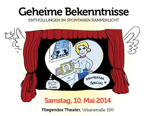 Geheime Bekenntnisse - Improtheater zum Muttertag
