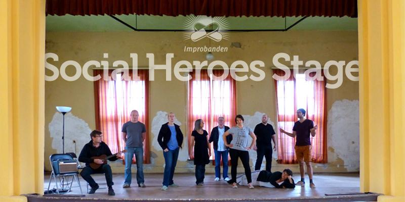Social Heroes Stage bei 48 Stunden Neukölln