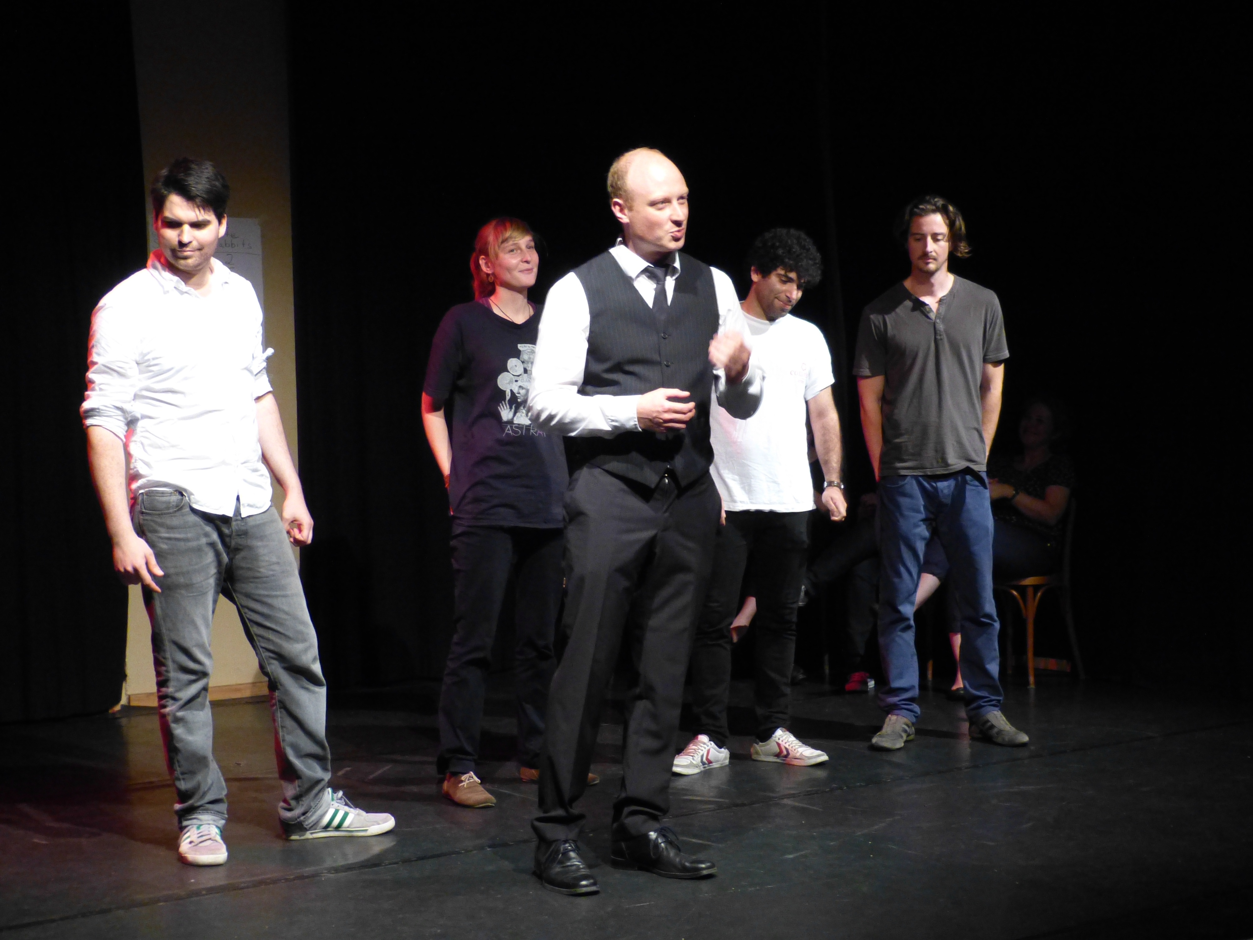 Training Archive Improbanden Impro Theater Berlin