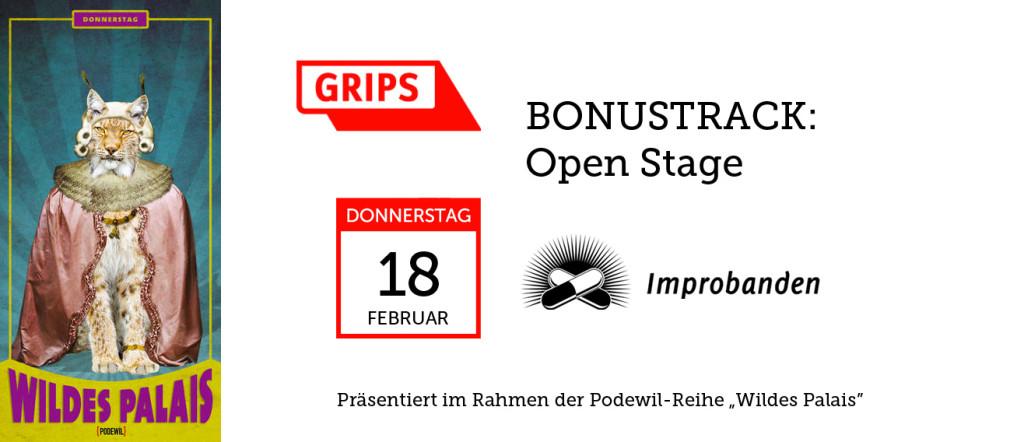Improbanden beim Grips Theater Opentrack im Podewil