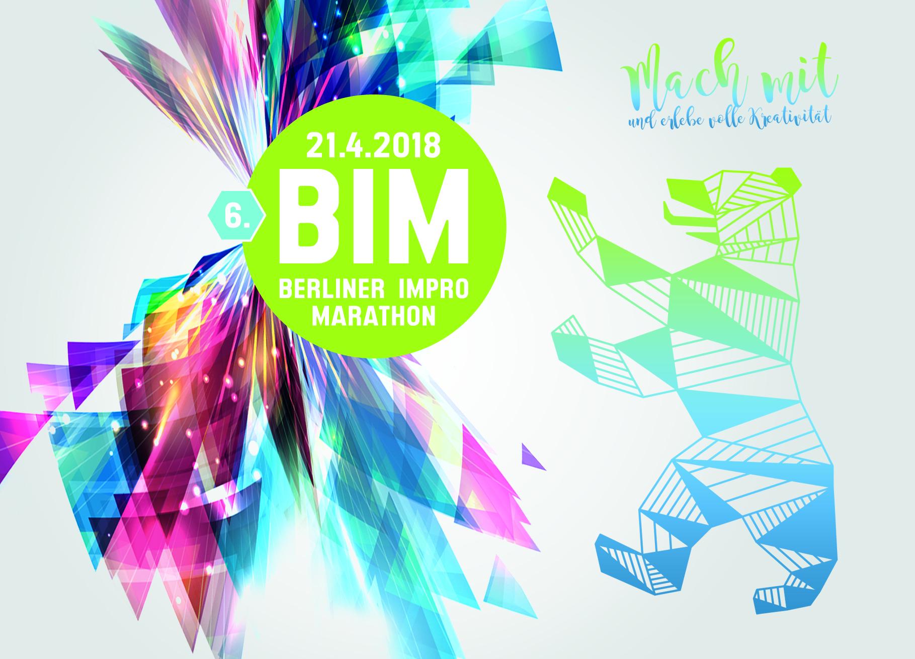 Improbanden beim 6. Berliner Impro Marathon